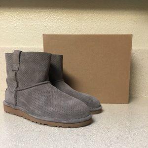 UGG Australia Classic Perforated Mini Boot Size 6